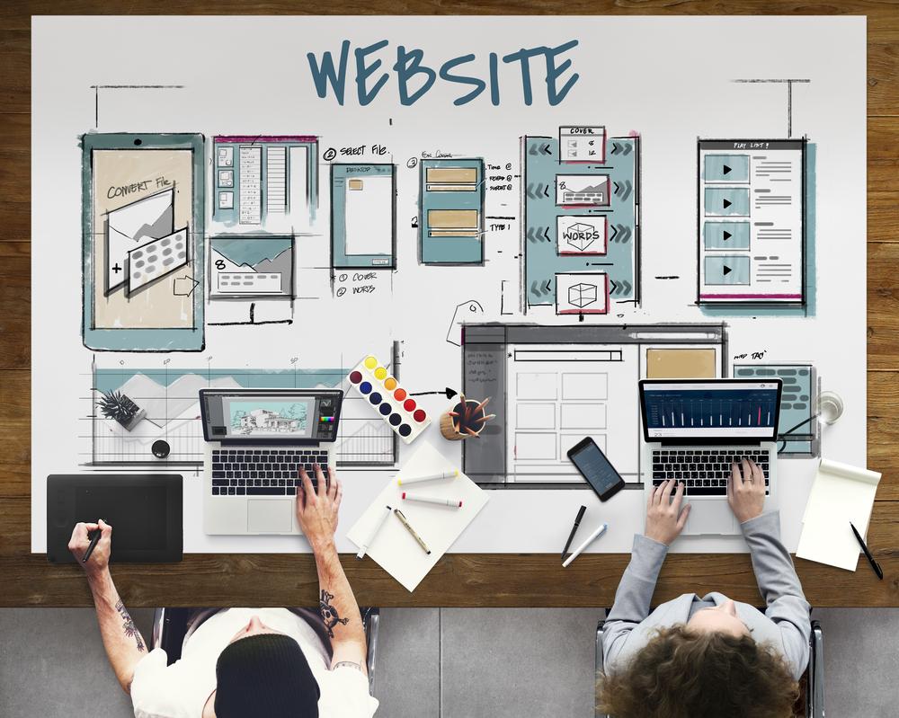 thiết kế giao diện web sử dụng hình ảnh